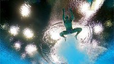 Nicholas McCrory of the United States competes in the Men's 10m Platform Diving