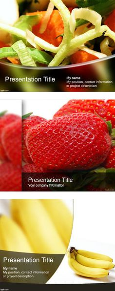 """""""Healthy Food Backgrounds for PowerPoint Presentations"""" by free-powerpoint-templates on Polyvore"""