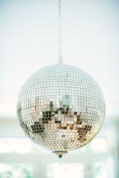 Shiny disco ball | Photography: Yazy Jo - yazyjo.com  Read More: http://www.stylemepretty.com/living/2014/09/22/la-la-lovely-home-tour/