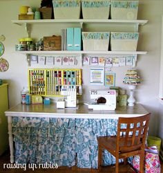 A sewing room!
