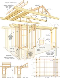 DIY Pergola Building Plans - Canadian Home Workshop Magazine