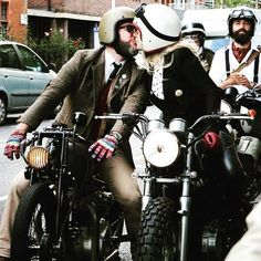 We didn't take part this year but lots of our friends did and what a proper job they did. Congrats and well done to all the proper dapper folks that rolled out around the world for #menshealth @markhawwa you must be exhausted, what awesome man you are and everyone that made #dgr2017 a great success. #tallyho #custombike #cancersucks #myboy #london @gentlemansride #womenwhoride @72_motorcycles #Regram via @merrymichau