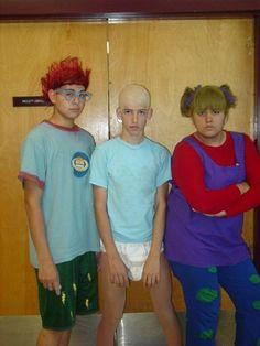 hahaha rugrats costumes