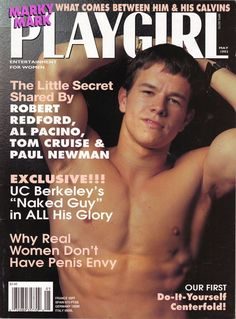 Mark Wahlberg Playgirl Cover
