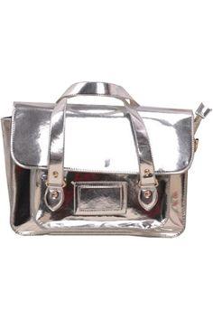 Metal Style Sliver Bag  #Romwe #Fashion #Contest #Pinterest #Girl #Streetfashion #beauty