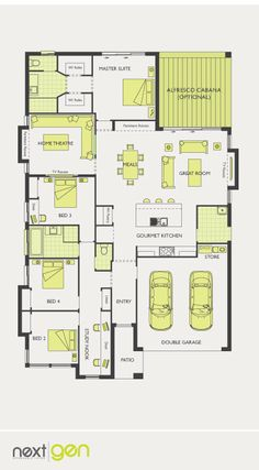 McDonald Jones Homes - Santorini Collection - Floorplan #Floorplans #luxuryhome