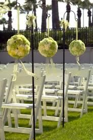 Spring wedding cerem