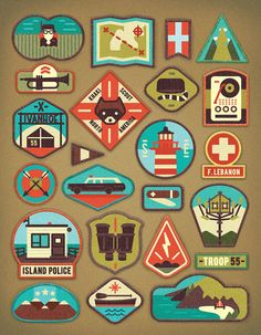 Moonrise Kingdom illustrated / MUTI