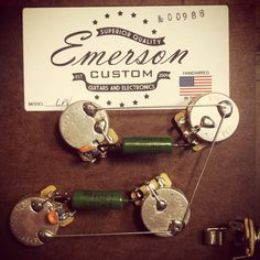 Emerson Custom Guitars and Electronics | Les Paul Prewired Assembly w/ NOS Paper in Oil Caps | $75