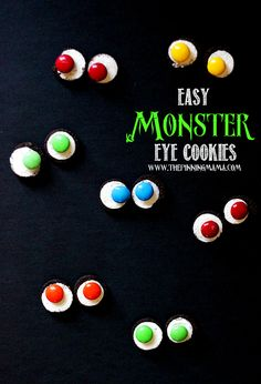 Super easy snack to make for Halloween!  Perfect for kids and parties!