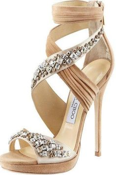 Jimmy Choo I would not know how to walk in these, but they are gorgeous