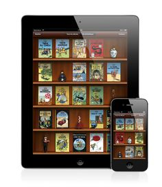 Tintin books on iPad