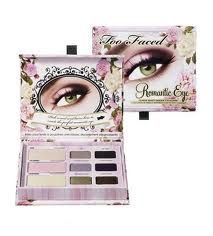 too faced palettes - another romantic eye palette picture. the boxes are so cute