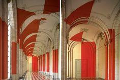 Anamorphic Illusions by Felice Varini (7)