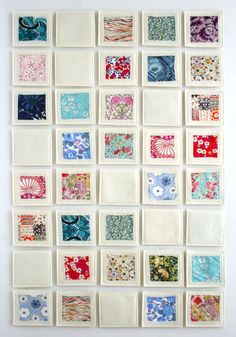 Fabric and felt memory game