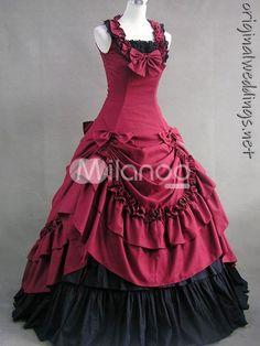 red, gowns, brides, beauti cloth, secret bride, black gown