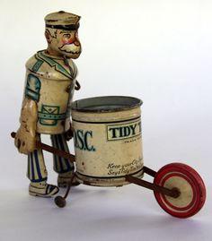 tin wind up toy........