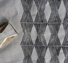 block print fabric - cushions