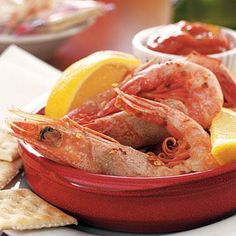 Drunk Shrimp | Enjoy this succulent Seafood recipe from deep in the Bayou. | SouthernLiving.com