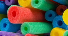 pool noodle decorating ideas noodl idea, pool noodles, noodl decor, creativ pool