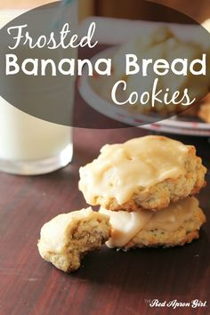 Frosted Banana Bread Cookies, I literally had a guy offer me $30 to make him his own batch