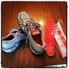 Review of Dr. Scholl's Active Series Insoles.