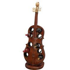 10-Bottle Cello Wine Holder