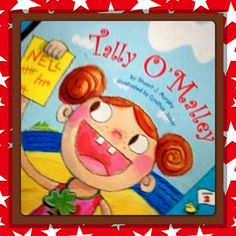 A STORY2SHARE: Tally O'Mally. Use this book to introduce Tally Marks to Kinder #Kids.  Tally O'Mally is from Stuart Murphy's #Math Series.  You will love it!  Enjoy Making #Education FUN!  Wishing Sunshine And SunnyDaz4U.blogspot.com