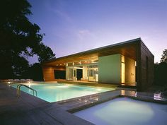 Modern architecture house