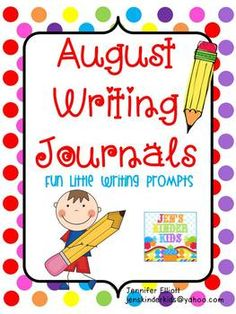 Writing Journals, Great for Back to School!