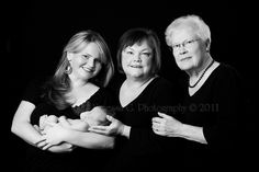 A generational portrait to document the strong women (or men) in your family ...  blog.vanessagphotography.com
