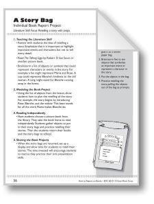 book report props