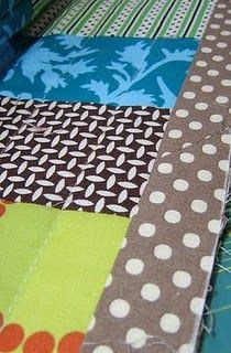 machine sewing quilt bindings