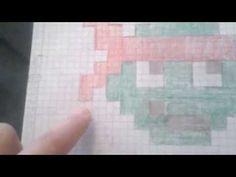 C2c crocheted graphghan - YouTube