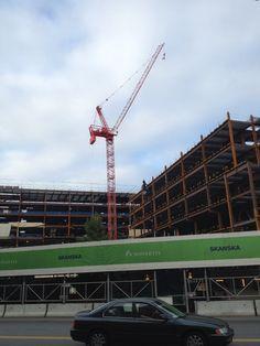 Yet another Cambridge crane...