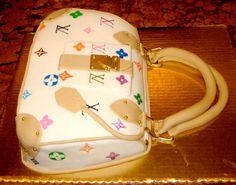 Designer Purse Quinceañera Cake