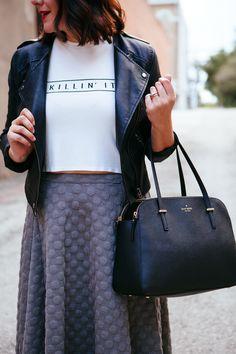 killin' it #style #fashion #black #tshirt