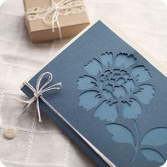make a die cut & layer over similar color paper