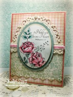 Spellbinders' Oval-Small, Deckled Oval, and Floral Oval dies like the half die idea