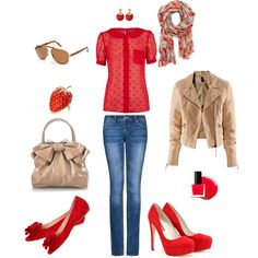 Juicy, created by #sdemes on #polyvore. #fashion #style #Oasis H&M