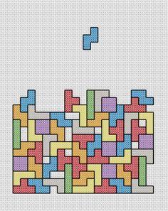Tetris Cross Stitch