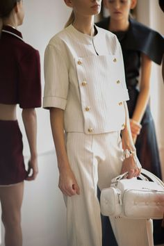 J.W.Anderson Spring 2015 Backstage. Photo by Kevin Tachman.