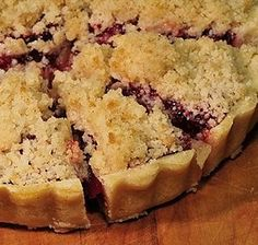 Cherry Crumb Pie - Pennsylvania Dutch Cooking from AlansKitchen.com