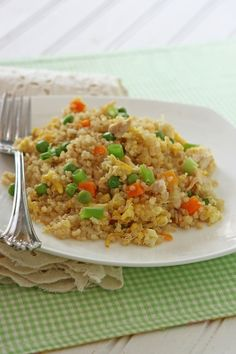 Quinoa Chicken Fried Rice