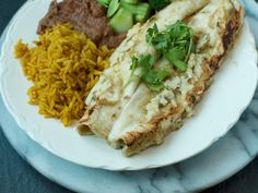 Chicken Enchiladas With Roasted Tomatillo Chile Salsa — The Weekender