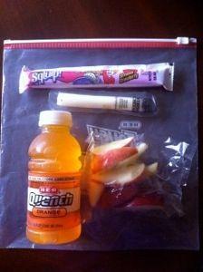 Team Mom Snack Ideas