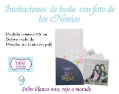 INFOCOPY Invitaciones, detalles y fotografia de Boda: Invitaciones de boda Zamora