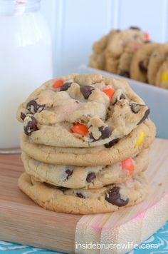 Peanut Butter Pudding Cookies on MyRecipeMagic.com