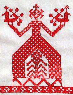 Traditionele Russische Kostuum
