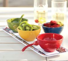 Talavera Melamine Condiment Set | Pottery Barn